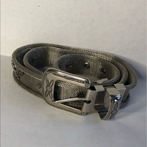 Accessories - Metal Belt with Eagle Detail